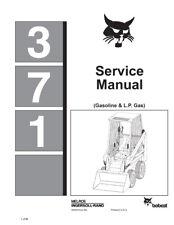 New Bobcat 371 Skid Steer Loader 1984 revision Repair Service Manual 6545574