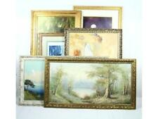 6 Framed Oil Paintings & Prints by Various Artists Lot 68