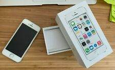Apple iPhone 5S 16GB Unlocked AT&T A1533 Silver Phone Used