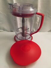 Ninja Master Prep QB900 Series 48 oz Red Handle Pitcher,Blades.Top,&Storage Lid