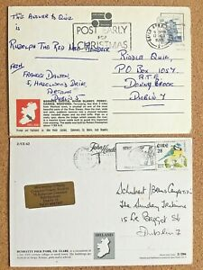 IRELAND 1974-99 COLLECTION OF SLOGAN POSTMARKS DUBLIN & PROVINCIAL TOWNS (20)