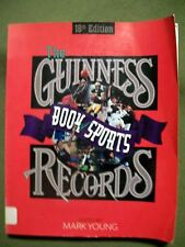 Guinness Book of Sports Records 1997-1998 by Mark Young (1997, Pbk) 18th Edition
