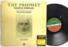 Arif Mardin The Prophet, Kahlil Gibran DJ PROMO Copy Vinyl, Record, LP, Album