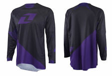 One Industries Gamma Motocross MX SX Dirtbike Off Road ATV BMX Jersey Purple MD