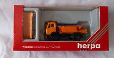 Herpa H0 1:87 -Herpa 806043 MB Streuwagen Winterdienst Schneepflug  OVP