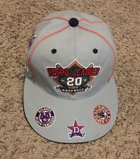 NEGRO LEAGUES Baseball 20 Classic Embroidered Team Logos Fitted Hat Cap Large