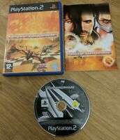 Powerdrome Sony PlayStation 2 PS2 Game Complete with Manual - Free P&P