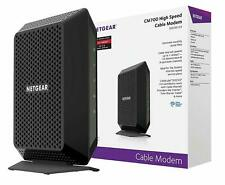 NETGEAR CM700 DOCSIS 3.0 Gigabit Cable Modem High Speed Up To 1.4Gbps