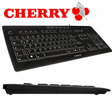 CHERRY STREAM 3.0 - Tastatur / Keyboard - USB - Deutsch - black - neues Modell