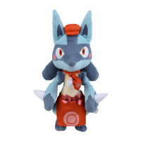 Pokemon Center Plush doll Pok?mon Caf? Mix Lucario JAPAN OFFICIAL IMPORT