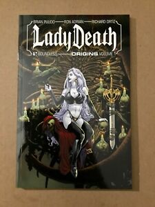 Lady Death Origins Vol 1 TPB Graphic Novel Collects Abandon All Hope Series