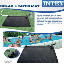Intex Solar Heater Mat for Above Ground Swimming Pool, 47In X 47In Accessories