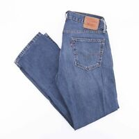 Vintage LEVI'S 559 Relaxed Straight Fit Men's Blue Jeans W34 L32
