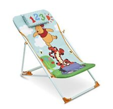 Winnie the Pooh Beach Chair Collapsible Foldable Deck Folding Chair Free P&P