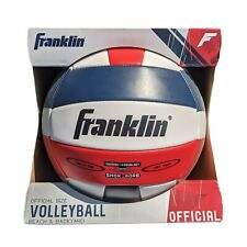 Franklin Sports Official Size Volleyball Beach Backyard Shok Sorb Soft Touch