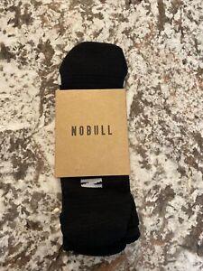 NoBull Low Sock X-Large in Black Arctic NIP