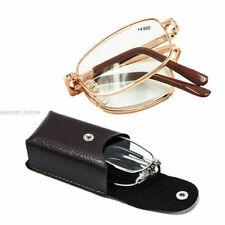 Unisex Foldable Reading Glasses Folded Hanging +1.0 +1.5 +2.0 +2.5 +3 +3.5 +4.0
