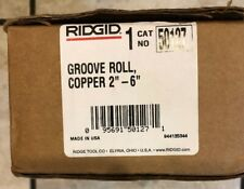 "Ridgid 50127 Groove Roll, Cooper 2""-6"""
