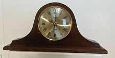 VTG Spectrum QUARTZ Time Chiming Wooden Mantel Clock Hechinger Movement W German