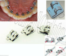 24/Kit, 2D Lingual Brace Hook123 Dental Orthodontic Buccal Tube Archwire Band