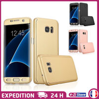 ETUI HOUSSE COQUE INTÉGRALE FULL COVER 360° POUR SAMSUNG GALAXY S7 Edge