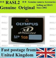 Original Genuino Olympus 1 GB XD-Picture Card, Tarjeta De Memoria Tipo M + XD, M 1 GB