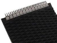 John Deere 467 Round Baler belts Complete Set 3 Ply Diamond Top w/MATO Lacing