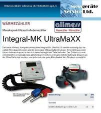 ALLMESS Messkapsel Wärmezähler ULTRAMAXX  qp1,5   !!!NEU!!!