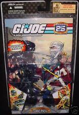 GI Joe 25th Wave 5 Snake Eyes & Storm Shadow *IN STOCK*