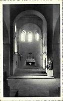 Mittelheim Rhein Postkarte ~1920/30 St. Ägidiuskirche Innenansicht Chorpartie