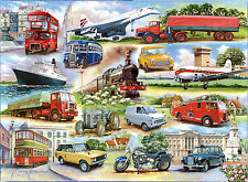 The House of Puzzles - 1000 Piece Jigsaw Puzzle-Golden Oldies transport