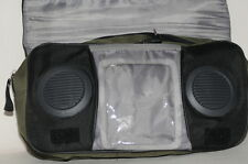 Jeep Owners Travel Speaker Zippered Carry Bag Hanging CanvasTote Portable EC