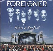 Foreigner - Alive & Rockin' CD 2012 NEW SEALED