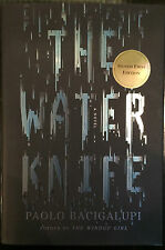 The Water Knife Limited Edition Hardback 1st Print Signed Paolo Bacigalupi