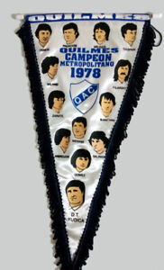 QUILMES Champion 1978 PENNANT - Argentina Football Soccer