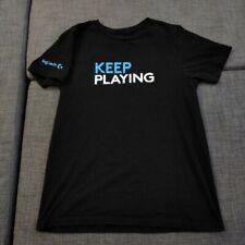 Logitech Keep Playing, T Shirt, Adult L | PAX West + Free Random PAX Lanyard