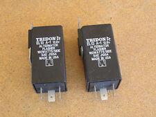2 TRIDON EL13 A-1 12VDC Alternator Flasher Wig Wag 160W per side