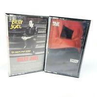 Billy Joel Cassette Lot of 2: An Innocent Man, Storm Front