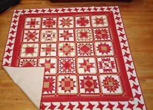 Red Star Heirloom Quilt