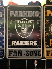 Oakland Raiders Fan Zone Parking Sign - New Item!