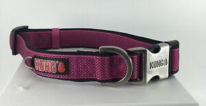 "Kong Padded Dog Collar  Pink X-large  Size 20-28"" NWOT"