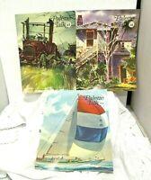 3 Vintage 1970s Grumbacher Palette Talk Painting Magazine Issues 24 & 26 & 27