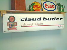 Claud Butler Banner, Bicycle enthusiast Workshop Advertising pvc sign