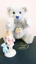 Steiff Bear - Royal Copenhagen Blue Goldilocks 2004 Teddy Bear Set - 661310  Ltd