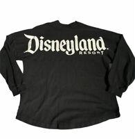 Disneyland Adult Spirit Jersey Black and White Size M Flawed