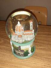San Francisco Music Box Company Florence Italy Joan Pilallis Snow Globe Rare