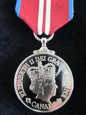 Canadian Queen Elizabeth Diamond Jubilee Full Size Specimen/Replacement Medal