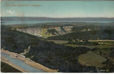 Postcard - VIEW FROM WYND CLIFF, CHEPSTOW