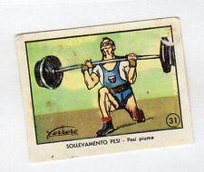 figurina FERRERO OLIMPIADI NUMERO 31