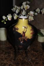 New! Franklin Mint Prayer to the healing Spirit Vase Buck McCain Porcelain